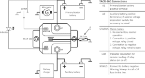 Automatic charging relay schematic