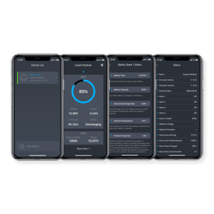 Dashboard Mobile screens